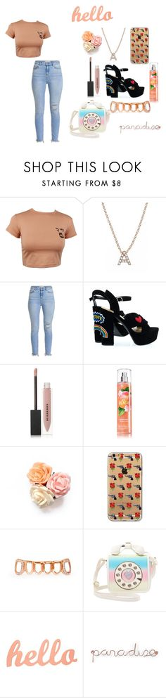 """""""Untitled #317"""" by dreamarie151 on Polyvore featuring Bony Levy, Burberry, Betsey Johnson and Umbra"""
