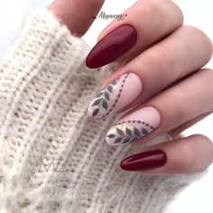Abstract Nail Art Designs You're Going To Love These trendy ideas would gain you amazing compliments. Check out our gallery for more ideas these are trendy this year. Red Nail Designs, Halloween Nail Designs, Halloween Nail Art, Cute Nails, Pretty Nails, My Nails, Abstract Nail Art, Prom Nails, Nails Inspiration