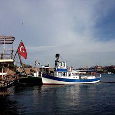 In front of the Koc Museum #Travel # #Turkey #SerifYenen