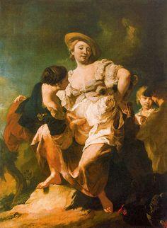 Giambattista Piazzetta, Gallerie dell'Accademia di Venezia - Risposta 1073: L'indovina