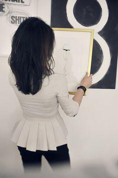 Love the paintings. Trendenser Frida Ramstedt