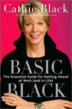 """Basic Black is a """"guide"""" written by former president of Hearst Magazines, Cathie Black, about to succeed in life and business (the 360 degree life, as she calls it). Black uses personal experiences from her many years in the publishing industry. I think this book was enjoyable because I am studying the magazine industry, so I was interested in her field. For those outside of publishing, this could be a very dry/predictable read. #summerreading"""