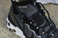 1f094b2ab8f5 Here s An On-Feet Look At The Nike React Element 87 Black White How many