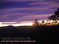 God paints every Rabun County sunrise with different colors!