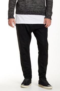Black HUDSON Jeans Asylum Pant for him.