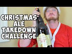 3L Christmas Ale Takedown Challenge *Vomit Alert* | WheresMyChallenge - YouTube