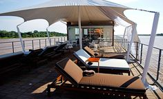 M/V Aqua Amazon Cruise - Iquitos, Peru #getlost Honeymoon Registry, Honeymoon Cruises, Lost Hotel, Floating Hotel, Amazon River, Peru Travel, Aqua, Luxury, Design
