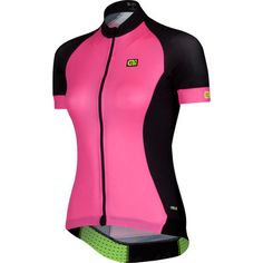 Neon Pink Cycle Jersey!! - Wiggle   Alé Women's PRR 2.0 Short Sleeve Jersey   Short Sleeve Cycling Jerseys £88 http://www.wiggle.co.uk/ale-womens-prr-20-short-sleeve-jersey/