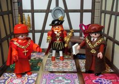 King Henry VIII, Cardinal Wolsey & Sir Thomas Moore