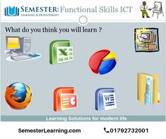 This skill is essential for most apprenticeships and equally important for any employee. It covers use of email, the internet, word processing, spreadsheets, databases and is tested in a practical way. Online Courses, Opportunity, Engineering, How To Apply, Internet, Learning, Words, Teaching, Education