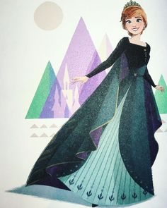 Queen Anna of Arendelle from Frozen 2 Frozen Disney, Disney Pixar, Princesa Disney Frozen, Frozen And Tangled, Disney And Dreamworks, Disney Movies, Disney Characters, Anna Disney, Anna Frozen