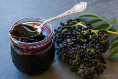 Elderberry Jelly ~ Elderberry jelly made from wild elderberries, foraging tips and step-by-step instructions. ~ SimplyRecipes.com