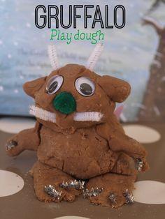 Gruffalo play dough - a fun way to bring the book to life!