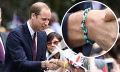 Has Prince William fallen for the loom band craze? #royal