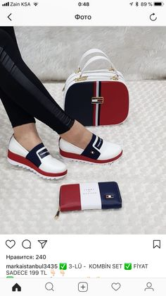 Tommy Hilfiger Fall 2018 Designer Handbags, Beauty Hacks, Slip On, Stylish, Check, Sandals, Shoes, Fashion, Designer Bags