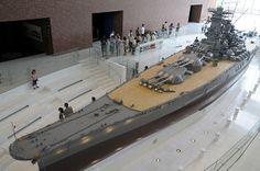 JNS Yamato - Yamato Museum  - 1/10  scale model  Z
