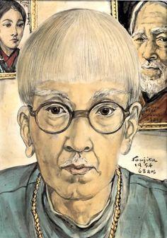 藤田嗣治画集「巴里」「異郷」「 追憶」1886~1968 の三冊 - すそ洗い