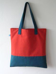 Canvas Shopper Bag, Tote Bag, Denim Bag Patterns, Fabric Bags, Suitcases, Cotton Bag, Handmade Bags, Bag Accessories, Couture