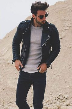 Amazing 42 Casual Jacket for Men Looks More Cool http://inspinre.com/2018/02/14/42-casual-jacket-men-looks-cool/