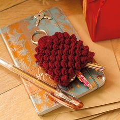 Crochet Patterns Key : ??? on Pinterest Key Covers, Crochet Key Cover and Key Rings