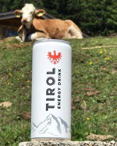 "Tirol Energy on Instagram: ""Muuuuuuuuuh #tirol #tirolenergy #aschluckhoamat #visittirol #energy #energydrink #dose #steine #berge #bergtour #photooftheday #kuh #alm…"" Energy Drinks, Travel Mug, Tours, Instagram, Stones"