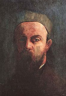 Self-Portrait, Bertrand-Jean Redon 1880, Musée d'Orsay  Better known as Odilon, Redon was a French symbolist painter, printmaker, draughtsman and pastellist.