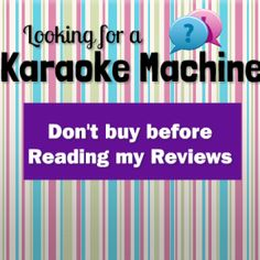 Karaoke USA GF829 Review #review #Karaoke Machine