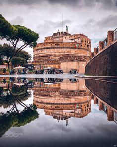 Castel Sant'Angelo by Nickolas Koursioumpas / 500px Castles, Louvre, Building, Travel, Viajes, Chateaus, Buildings, Destinations, Traveling