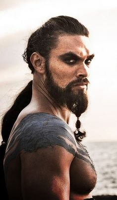 Jason Momoa as Khal Drogo Game of Thrones
