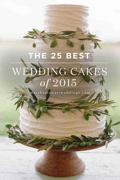 The 25 Best Wedding Cakes of 2015 | Martha Stewart Weddings