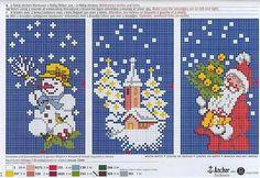 Новогодняя миниатюрная вышивка/схемы.. Обсуждение на LiveInternet - Российский Сервис Онлайн-Дневников