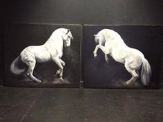 Pop-Up Equine Art Lesson with Tony O'Connor 'Power' Part 9/10: whitetreestudio.ie