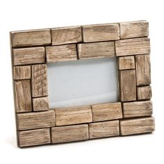 Rustic Photo Frame in Brown