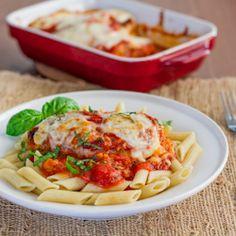 Lighter Chicken Parmigiana