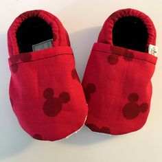 These Mickey shoes are the perfect accessory to a summer vacation at Disney or a little ones themed birthday! Easy to slip on, small enough to pop in parents pockets, and lightweight for hot days! Order today with coupon code MYFAVORITETHINGS for 10% off!