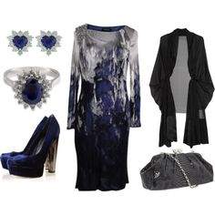 Navy & Gray - Plus Size Fashion