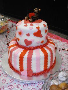 3 valentines birthday cake valentine cakes pink pinterest on valentine birthday cake photo