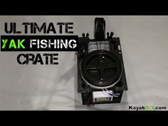 Custom SlideTrax Crate Build for Kayak Fishing & More - YouTube