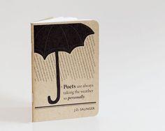 J.D. Salinger Notebook, Mini Notebook and Jotter