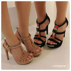 heels - party shoes - salto alto - Via Marte - Ref. 14-16707 e 14-16706 - Verão 2015