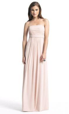 Elegant Chiffon A-line Strapless Empire Long/Floor-length Bridesmaid Dresses FSAU1409P917133 - formalsydney.com