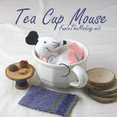 Tea Cup Mouse takes a break
