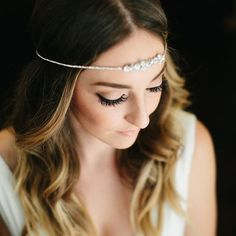 This could be you.  The best version of yourself.  The bridal beauty you imagined. . . Look and feel like yourself on your big day.  To book your bridal beauty trial now, contact us through the link in our bio.  We can't wait to help you become the radiant bride of your dreams! . . Bridal Airbrush Makeup: @veilofgrace #VOGSamantha Bridal Hairstyling: #VOGPaulina Photographer: @emily.magers