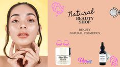 Make your skin shine WITH Natural Ingredients Skincare  Cosmetics🌿! Chose Venuscounter for your Skincare 😍 #skincare #beauty #skincareroutine #makeup #skin #skincareproducts #antiaging #skincaretips #glowingskin #selfcare #cosmetics #facial #healthyskin #natural #acne #serum #like #love #naturalskincare #kosmetik #perawatanwajah #beautycare #spa #beautiful #organic #facials #esthetician #skincaremurah #vegan #bhfyp Acne Serum, Skin Shine, Natural Cosmetics, Facials, Beauty Shop, Glowing Skin, Beauty Care, Natural Skin Care, Healthy Skin