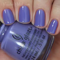 China Glaze: Spring 2014 City Flourish Collection Swatches and Review