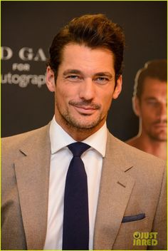 David Gandy & His Shirtless Cut-Outs Are Too Hot to Handle