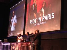 New York City band Riot !n Paris on stage