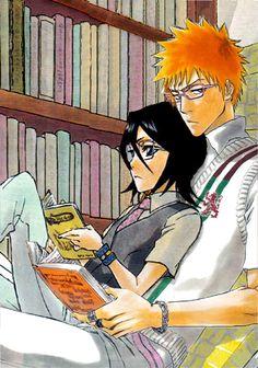 Ichiruki in the library