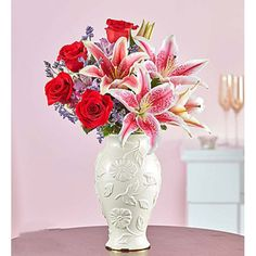 EXCLUSIVE Be the reason she knows it's forever with our luxurious and modern new twist on a classic romantic gift. Send Flowers Online, Valentine Day Gifts, Special Occasion, Centerpieces, Romantic, Love, Classic, Modern, Ideas