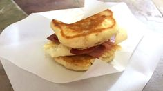 "Get the best of both worlds with this Breakfast ""Pan""Wich made with delicious Petit Jean Ham."